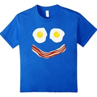 Funny-T-shirts-Bacon-And-Eggs-Breakfast-Smiley-Face-Tee-0